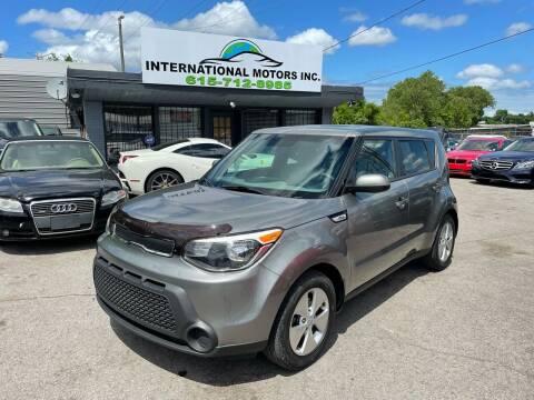 2016 Kia Soul for sale at International Motors & Service INC in Nashville TN