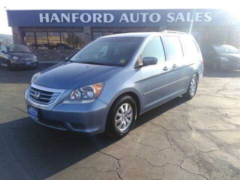2009 Honda Odyssey for sale at Hanford Auto Sales in Hanford CA