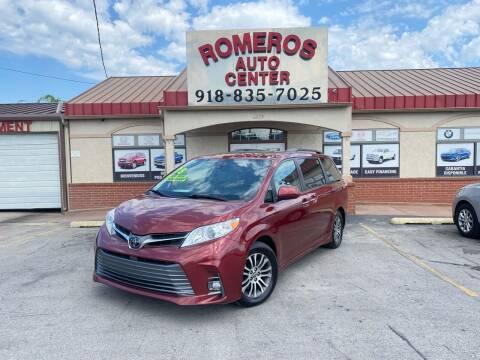 2018 Toyota Sienna for sale at Romeros Auto Center in Tulsa OK