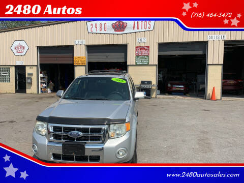 2009 Ford Escape for sale at 2480 Autos in Kenmore NY