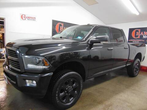 2015 RAM Ram Pickup 2500 for sale at Champion Motors in Amherst NH