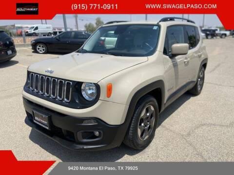 2015 Jeep Renegade for sale at SOUTHWEST AUTO GROUP-EL PASO in El Paso TX