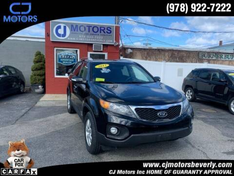 2012 Kia Sorento for sale at CJ Motors Inc. in Beverly MA