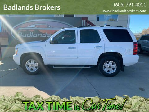 2008 Chevrolet Tahoe for sale at Badlands Brokers in Rapid City SD