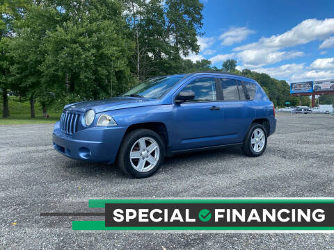 2007 Jeep Compass for sale at QUALITY AUTOS in Hamburg NJ