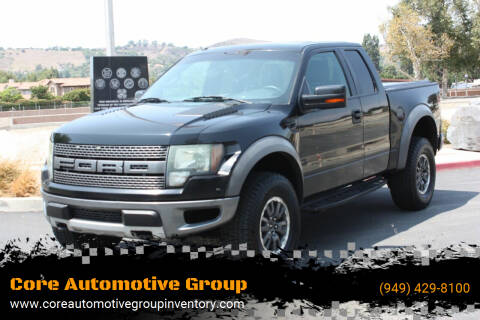 2010 Ford F-150 for sale at Core Automotive Group in San Juan Capistrano CA