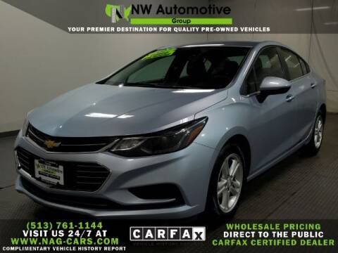 2017 Chevrolet Cruze for sale at NW Automotive Group in Cincinnati OH