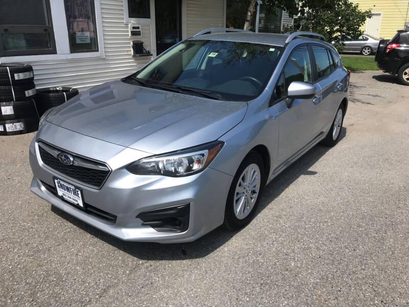 2018 Subaru Impreza for sale at Snowfire Auto in Waterbury VT