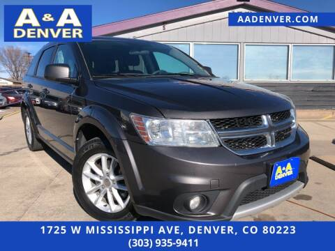 2016 Dodge Journey for sale at A & A AUTO LLC in Denver CO