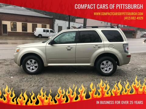 2010 Mercury Mariner for sale at Compact Cars of Pittsburgh in Pittsburgh PA