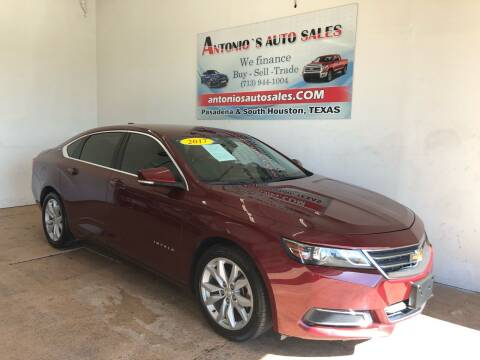 2017 Chevrolet Impala for sale at Antonio's Auto Sales - Antonio`s  3001 in Pasadena TX