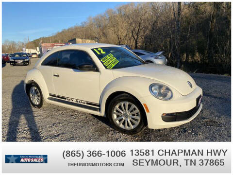 2012 Volkswagen Beetle for sale at Union Motors in Seymour TN