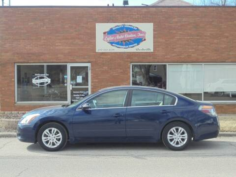 2012 Nissan Altima for sale at Eyler Auto Center Inc. in Rushville IL