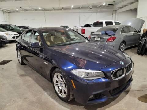 2012 BMW 5 Series for sale at A & J Enterprises in Dallas TX