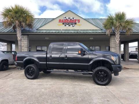 2014 Ford F-250 Super Duty for sale at Rabeaux's Auto Sales in Lafayette LA