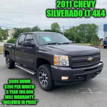 2011 Chevrolet Silverado 1500 for sale at D&D Auto Sales, LLC in Rowley MA