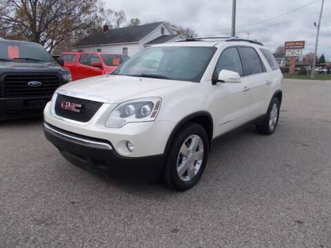2008 GMC Acadia for sale at Jenison Auto Sales in Jenison MI