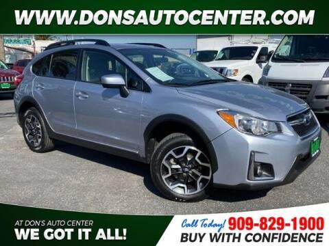2017 Subaru Crosstrek for sale at Dons Auto Center in Fontana CA