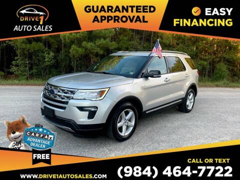 2018 Ford Explorer for sale at Drive 1 Auto Sales in Wake Forest NC