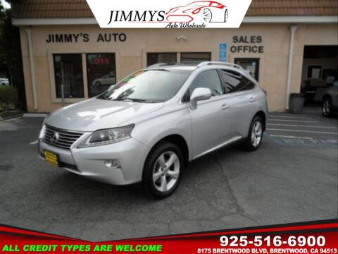 2013 Lexus RX 350 for sale at JIMMY'S AUTO WHOLESALE in Brentwood CA