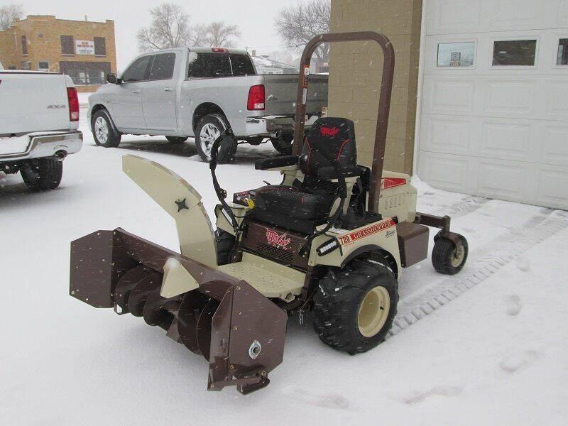 2019 Grasshopper 412 Snow Thrower for sale at Bernie Jones Auto - Lawn and Garden in Cambridge NE