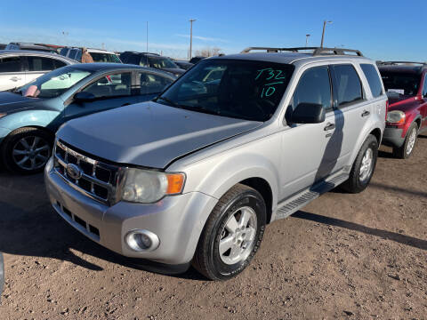 2010 Ford Escape for sale at PYRAMID MOTORS - Fountain Lot in Fountain CO