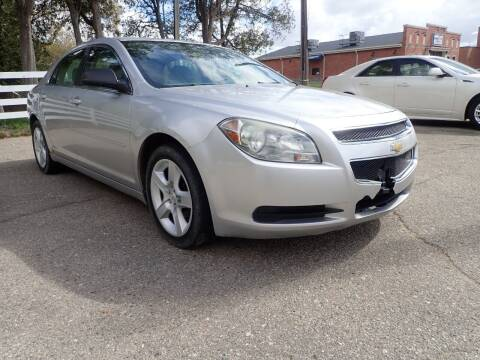 2010 Chevrolet Malibu for sale at Marvel Automotive Inc. in Big Rapids MI