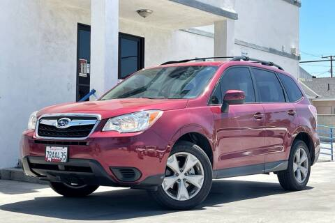 2016 Subaru Forester for sale at Fastrack Auto Inc in Rosemead CA