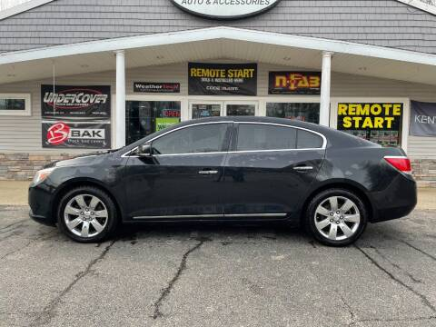 2012 Buick LaCrosse for sale at Stans Auto Sales in Wayland MI