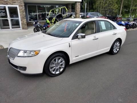 2012 Lincoln MKZ Hybrid for sale at GT Toyz Motor Sports & Marine in Halfmoon NY
