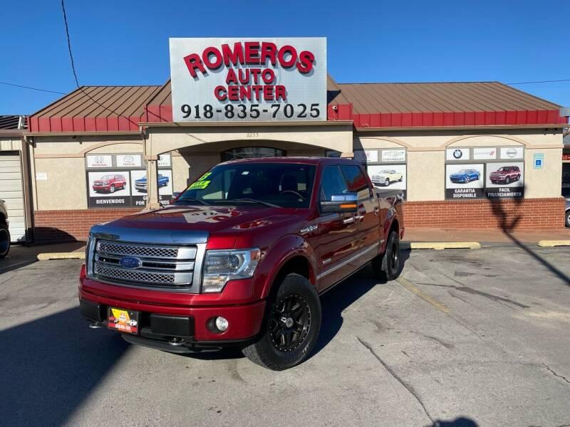 2013 Ford F-150 for sale at Romeros Auto Center in Tulsa OK