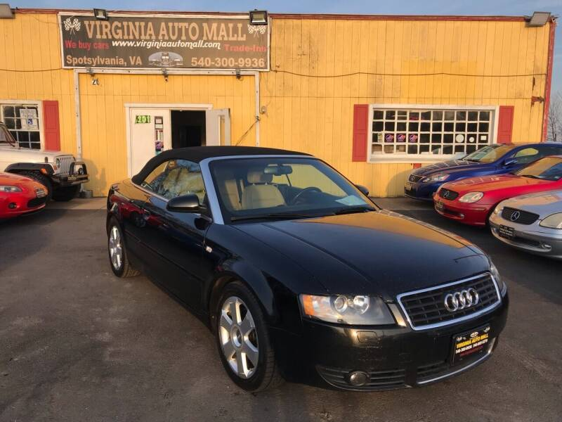 2006 Audi A4 for sale at Virginia Auto Mall in Woodford VA