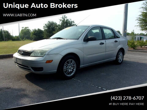 2006 Ford Focus for sale at Unique Auto Brokers in Kingsport TN