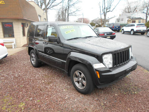 2008 Jeep Liberty for sale at MARANO MOTORS INC in Sewaren NJ