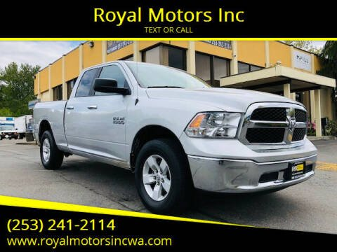 2017 RAM Ram Pickup 1500 for sale at Royal Motors Inc in Kent WA
