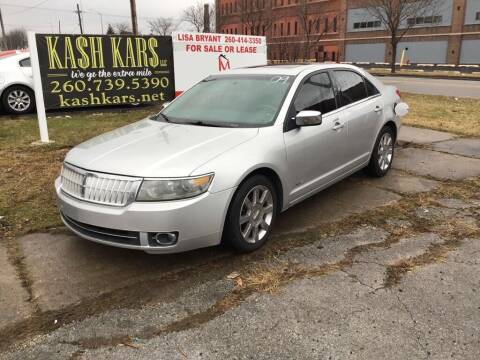 2009 Lincoln MKZ for sale at Kash Kars in Fort Wayne IN