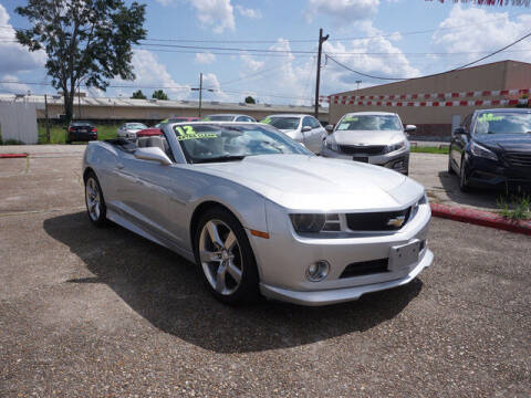 2012 Chevrolet Camaro for sale at BLUE RIBBON MOTORS in Baton Rouge LA