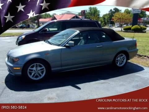2004 BMW 3 Series for sale at Carolina Motors at the Rock - Carolina Motors-Thomasville in Thomasville NC