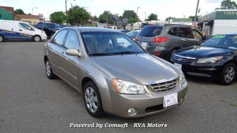 2005 Kia Spectra for sale at RVA MOTORS in Richmond VA