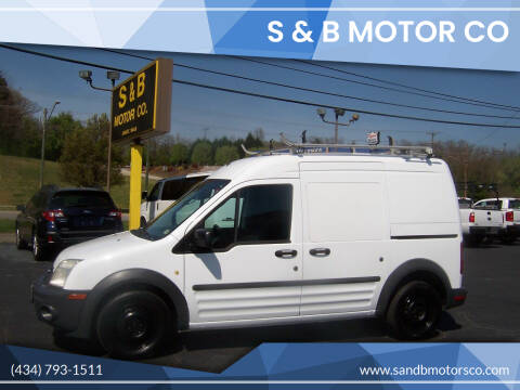 2012 Ford Transit Connect for sale at S & B MOTOR CO in Danville VA