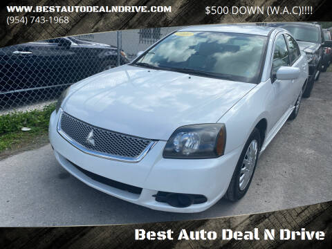 2010 Mitsubishi Galant for sale at Best Auto Deal N Drive in Hollywood FL