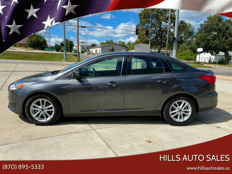 2018 Ford Focus for sale at Hills Auto Sales in Salem AR