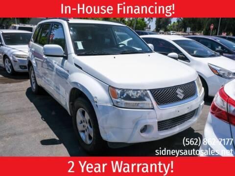 2007 Suzuki Grand Vitara for sale at Sidney Auto Sales in Downey CA