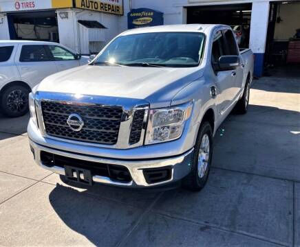 2017 Nissan Titan for sale at US Auto Network in Staten Island NY