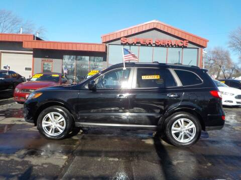 2010 Hyundai Santa Fe for sale at Super Service Used Cars in Milwaukee WI