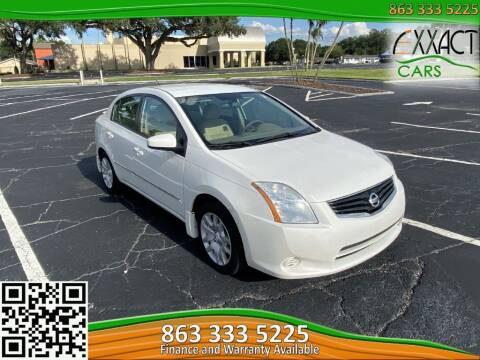 2012 Nissan Sentra for sale at Exxact Cars in Lakeland FL