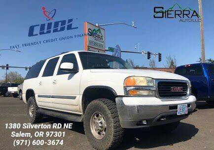 2003 GMC Yukon XL for sale at SIERRA AUTO LLC in Salem OR