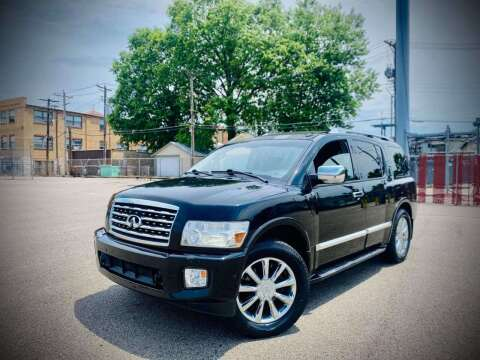 2008 Infiniti QX56 for sale at ARCH AUTO SALES in Saint Louis MO