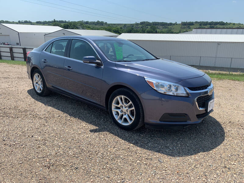2014 Chevrolet Malibu for sale at TRUCK & AUTO SALVAGE in Valley City ND