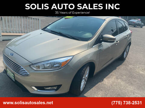2015 Ford Focus for sale at SOLIS AUTO SALES INC in Elko NV